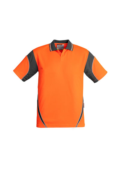 ZH248 Men's Hi Vis Aztec Polo - Short Sleeve