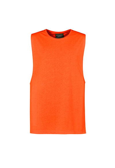 ZH297 Mens His Vis Sleeveless Tee