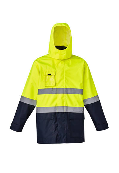 ZJ220 Mens Hi Vis Basic 4 in 1 Waterproof Jacket