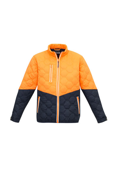 ZJ420 Unisex Hexagonal Puffer Jacket