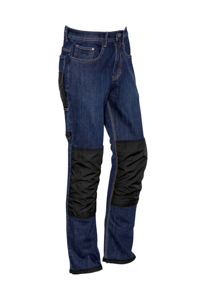 ZP508 Mens Heavy Duty Cordura?  Stretch Denim Jeans