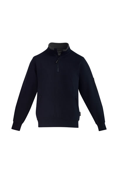ZT366 Mens 1/4 Zip Brushed Fleece