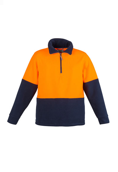 ZT460 Unisex Hi Vis Half Zip Fleece Jumper [no tape]