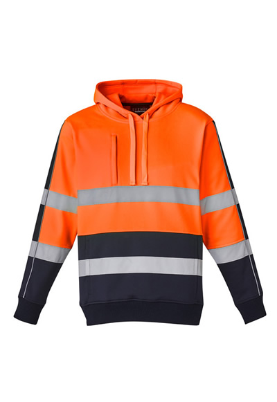 ZT483 Unisex Hi Vis Stretch Taped Hoodie