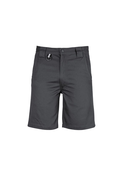 ZW011 Men's Plain Utility Short