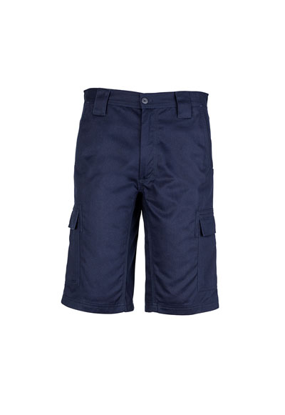 ZW012 Men's Drill Cargo Short