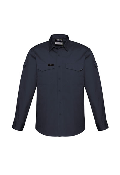 ZW400 Men's Rugged Cooling L/Sleeve Shirt