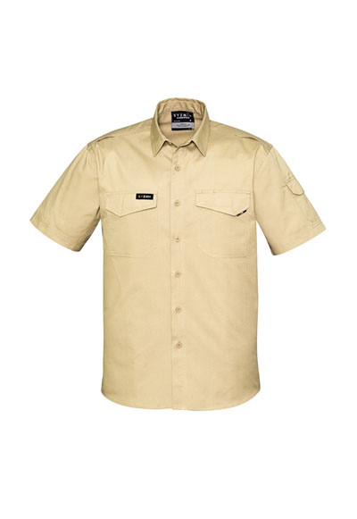 ZW405 Men's Rugged Cooling S/S Shirt