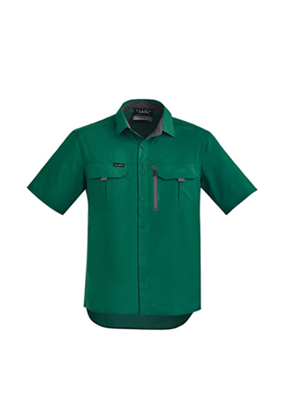 ZW465 Mens' Outdoor S/S Shirt